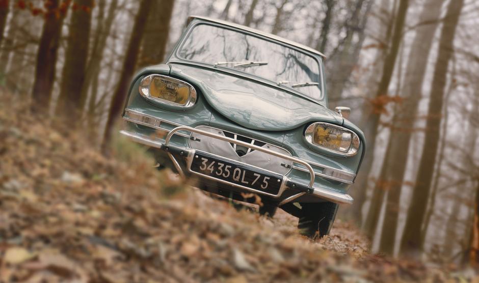Vom Ami 6 verkaufte Citroën innerhalb von acht Jahren etwas mehr als eine Million Exemplare.