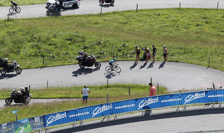 Der 7,5 Kilometer lange Anstieg aufs Kitzbüheler Horn soll bei der Ö-Tour für die Entscheidung sorgen.