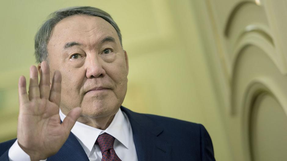 Kasachstans Präsident Nursultan Nasarbajew.