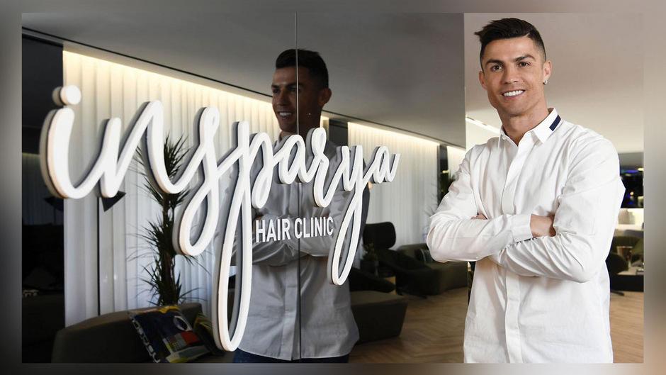 Er selber leide nicht an Haarausfall, sagt Fußballer Ronaldo bei der Eröffnung seiner Transplantations-Klinik in Madrid. Aber er wisse genau, wie wichtig die Frisur fürs Selbstwertgefühl sei.