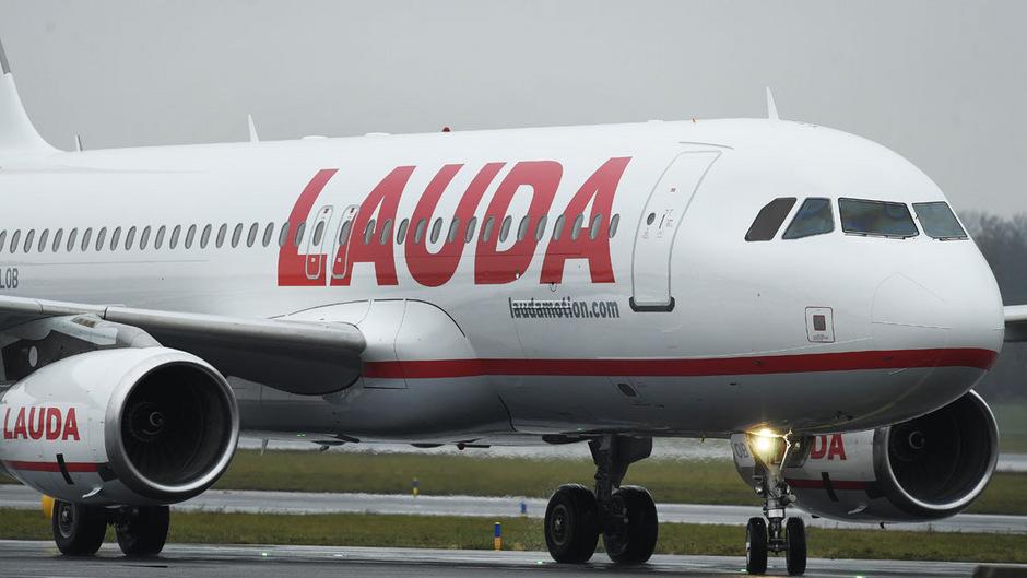 Ein Airbus 320 der Laudamotion. (Archivfoto)