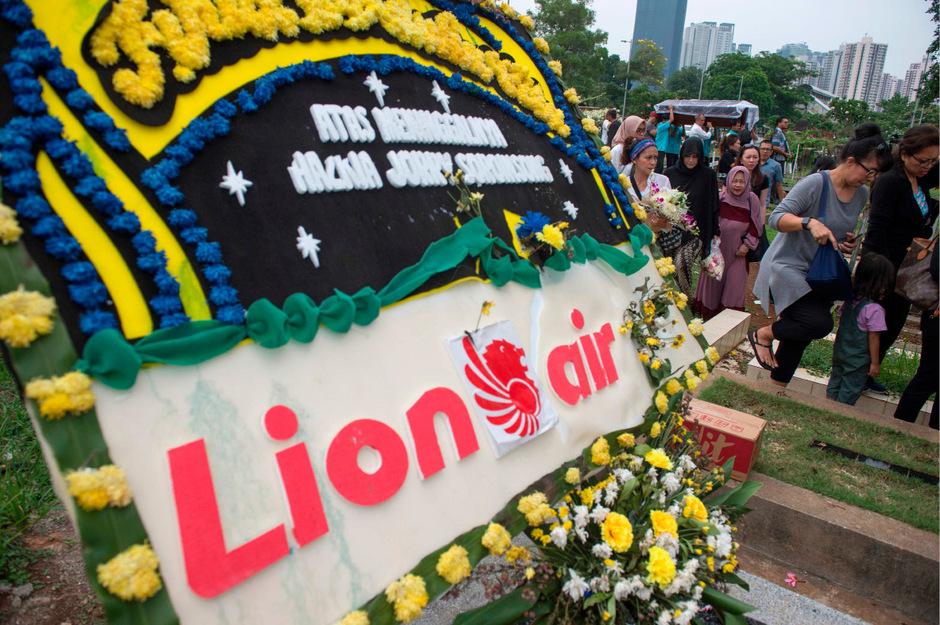 Am 29. Oktober 2018 stürzte eine Maschine der Billigairline Lion Air ins Meer. Alle 189 Insassen kamen dabei ums Leben.