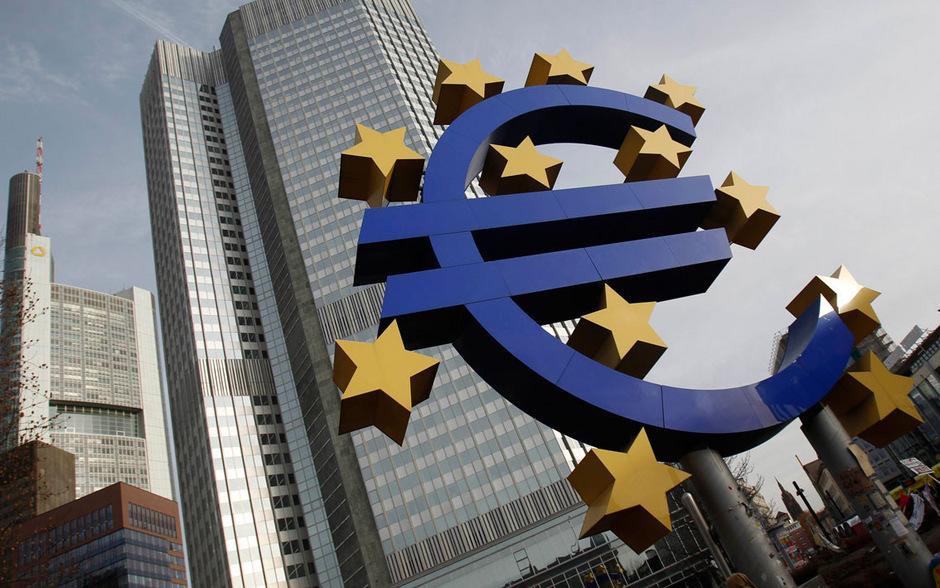 Die Europäische Zentralbank in Frankfurt am Main.