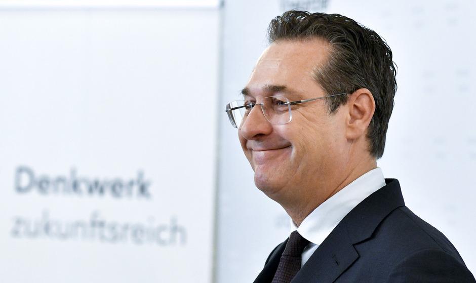 Vizekanzler Heinz-Christian Strache.