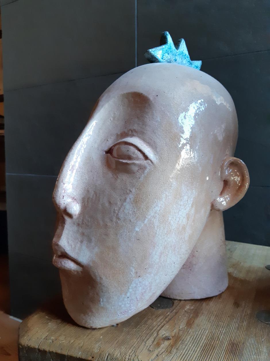 Auch Werke von Silvia Natterer sind zu sehen.