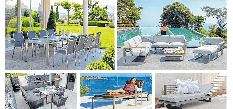 Ob für Terrasse, Garten oder Poolbereich - IHP bietet eine umfangreiche Auswahl an Qualitätsgartenmöbeln namhafter Marken, wie z.B. CANE LINE, 4Seasons und Stern, zu absoluten Spitzenpreisen.