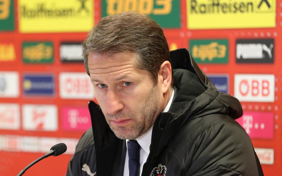 Sichtlich enttäuscht: ÖFB-Teamchef Franco Foda.