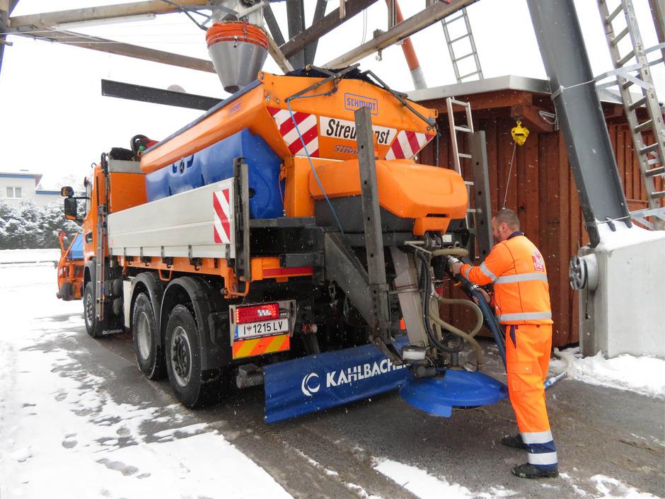 Die für den ganzen Winter veranschlagten 6000 Tonnen Streusalz waren bereits Ende Jänner aufgebraucht.
