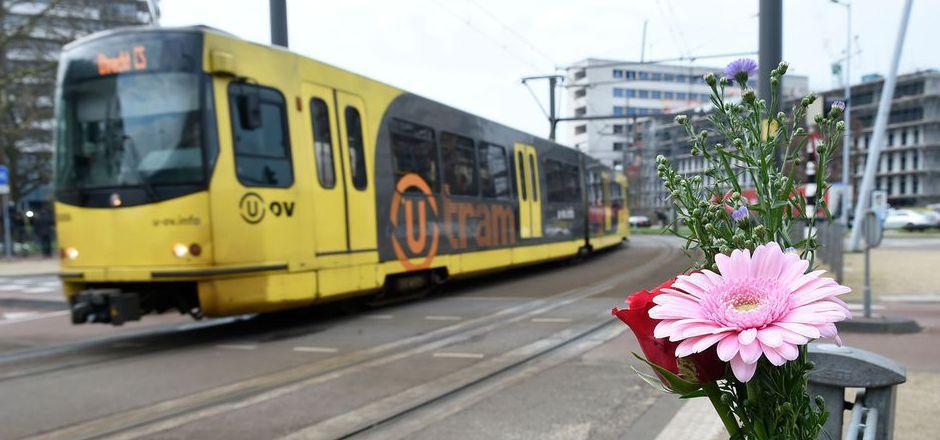 In dieser Straßenbahn in Utrecht starben am Montag drei Menschen durch Schüsse.