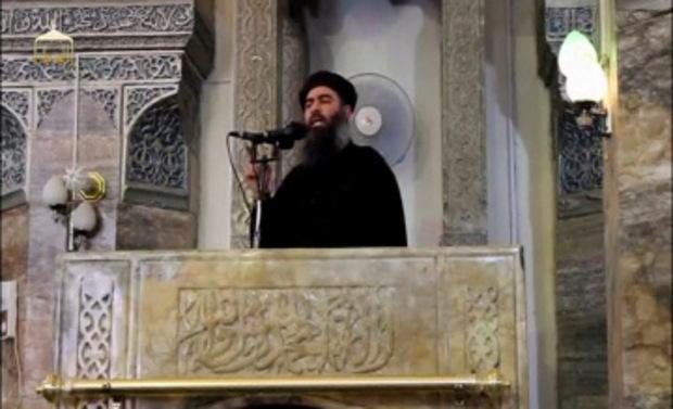 Abu Bakr al-Baghdadi soll laut Berichten in Baghouz gewesen sein, vor der Offensive aber geflüchtet sein.