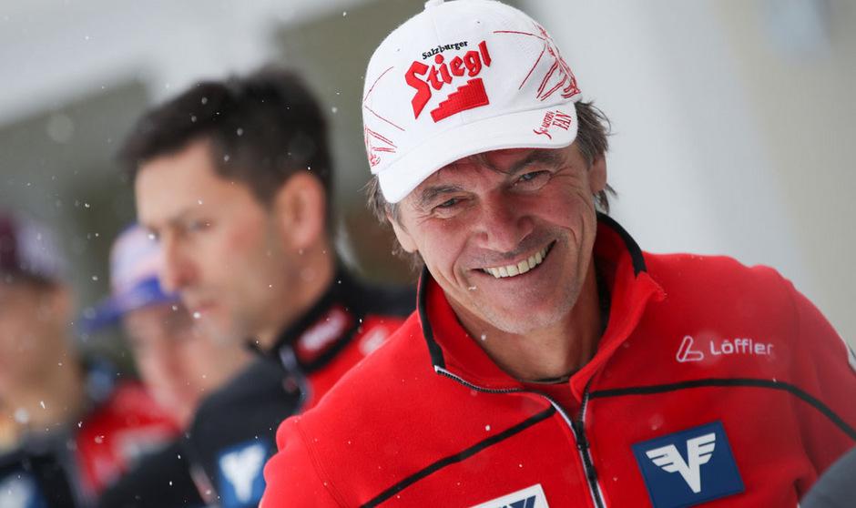 Andreas Felder erkannte in der abgelaufenen Saison einen Aufwärtstrend bei seinem Team.