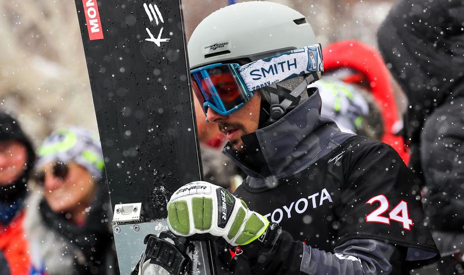 ÖSV-Boarder Lukas Mathies feierte seinen zweiten Weltcupsieg.