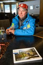 Alois Praschberger kreiert diese Ski, die er in die ganze Welt verkauft.