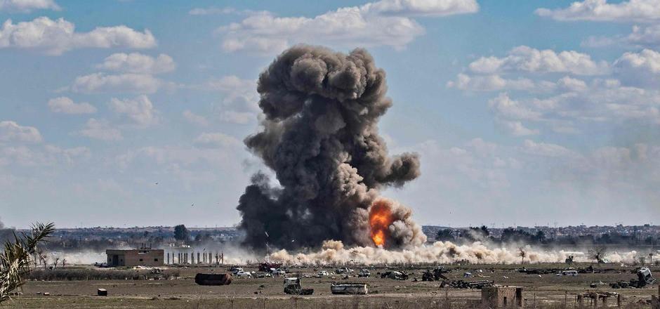 In Baghouz befanden sich die letzten Stellungen des IS.