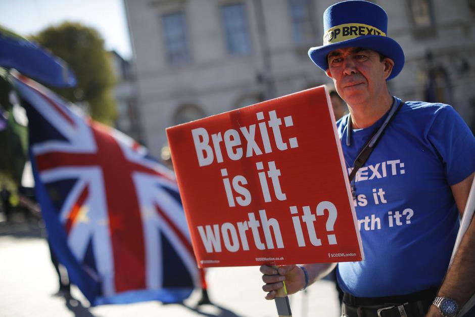 Brexit - ist es das wert? Das fragen sich inzwischen auch immer mehr ehemalige Befürworter eines EU-Austritts.