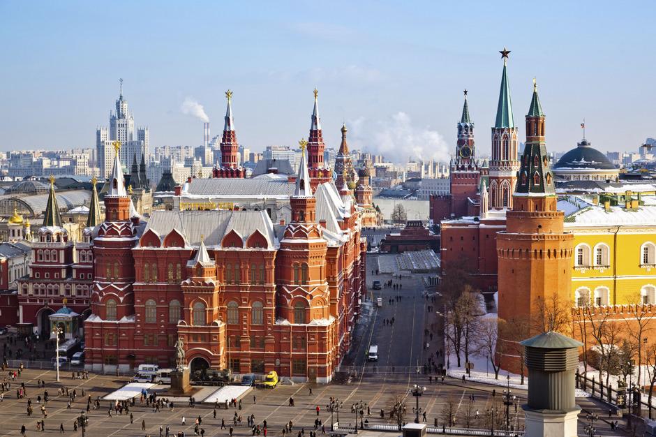 Das Staatliche Historische Museum in Moskau.