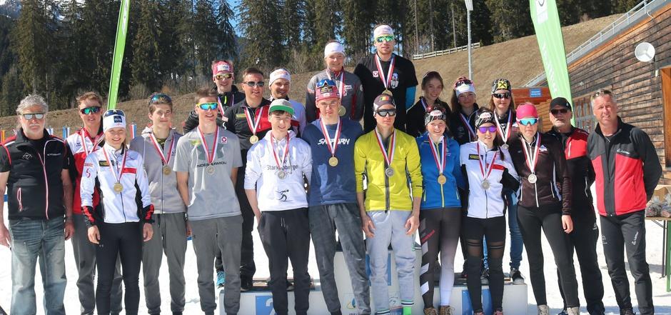 Die Tiroler Biathlon-Abordnung durfte sich bei den österreichischen Meisterschaften in Obertilliach 23 Medaillen umhängen.