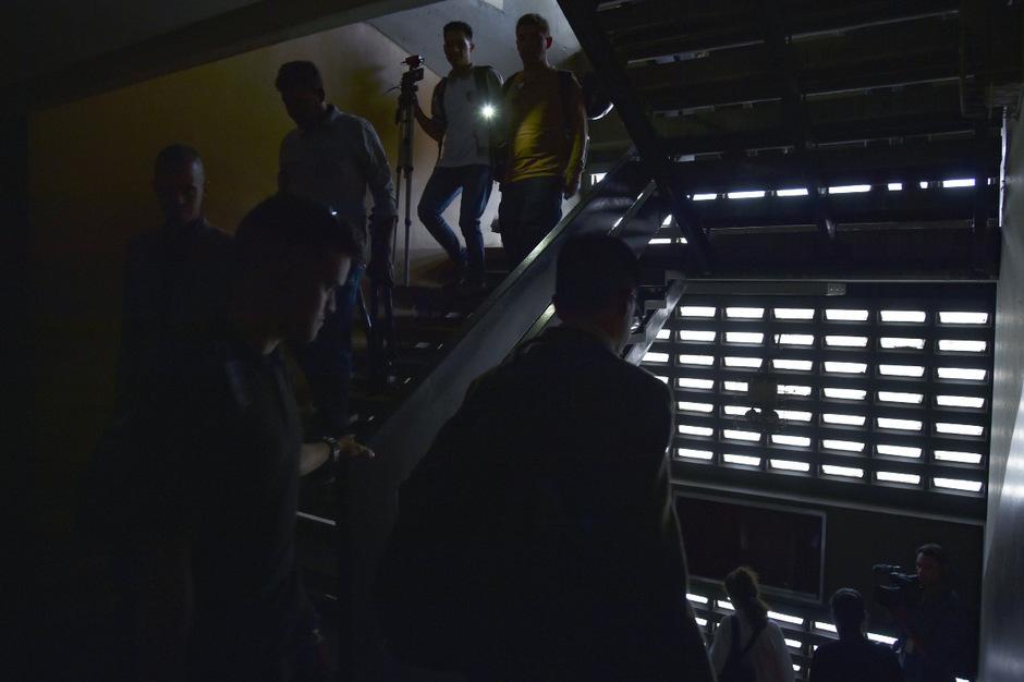 Erneut ist in Venezuela der Strom ausgefallen.