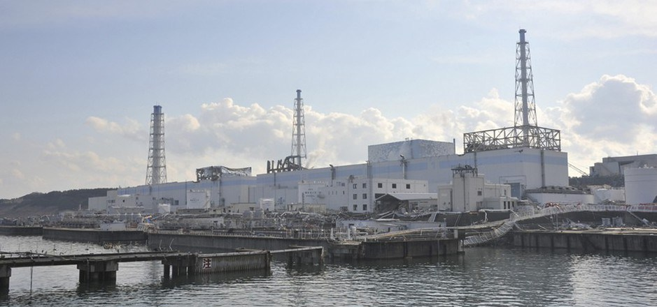 Das Atomkraftwerk in Fukushima.
