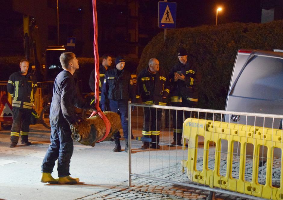 Nach Großangelegter Evakuierung Fliegerbombe In Wörgl Entschärft