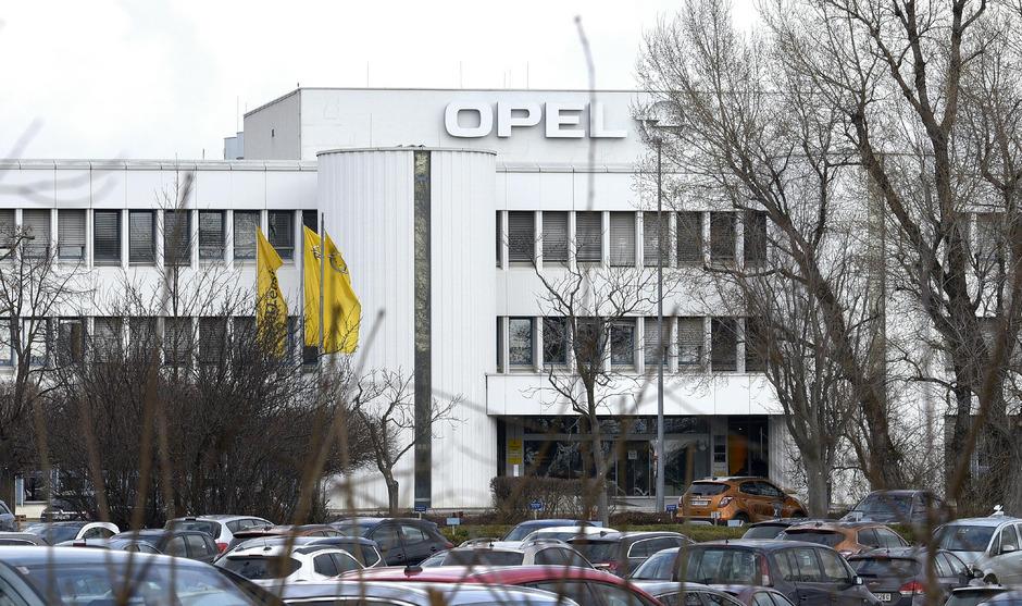 Die Opel-Fabrik in Wien-Aspern.
