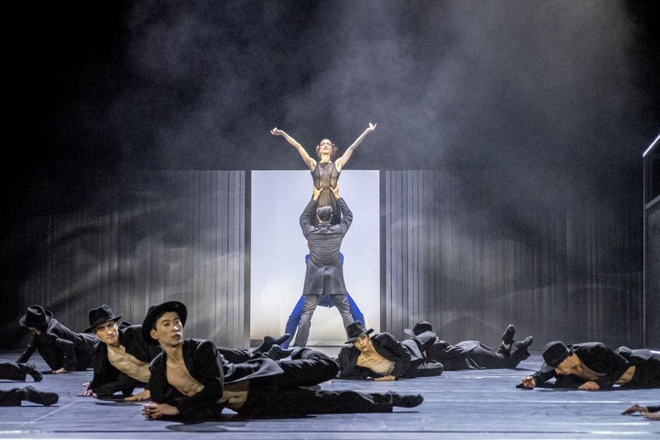 Ein neues Frauenbild: Tänzerin Anita Berber (verkörpert von Brígida Pereira Neves) ist unabhängig, zumindest von den sie umgebenden Männern.