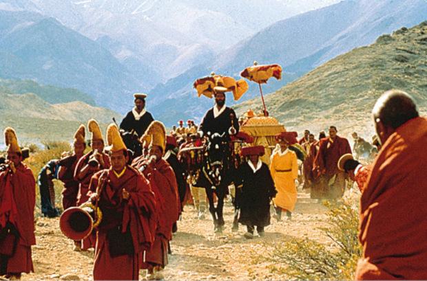 """Der Streifen """"Sieben Jahre in Tibet"""" rückt Religion und Spiritualität in den Vordergrund."""