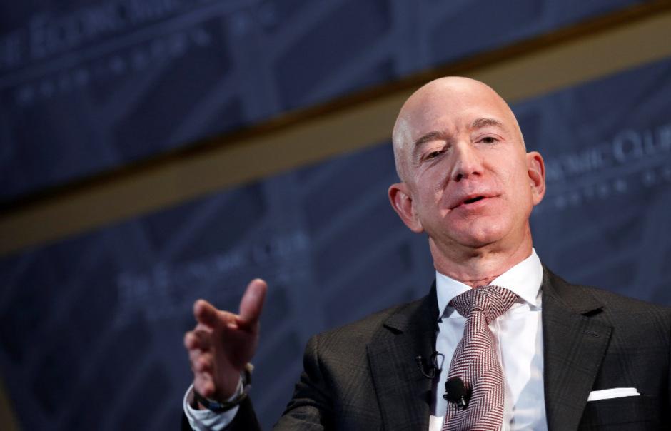 Amazon-Chef Jeff Bezos gilt als reichster Mensch der Welt.