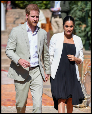 Prinz Harry und Herzogin Meghan erwarten in den nächsten Wochen ihr erstes Kind.