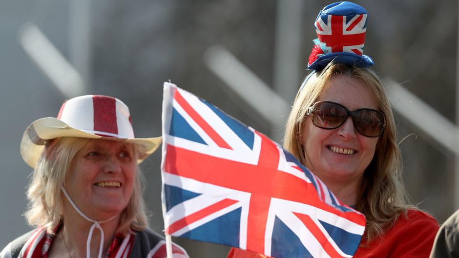 Die Brexit-Befürworter demonstrierten vergangene Woche vor dem britsichen Parlament.