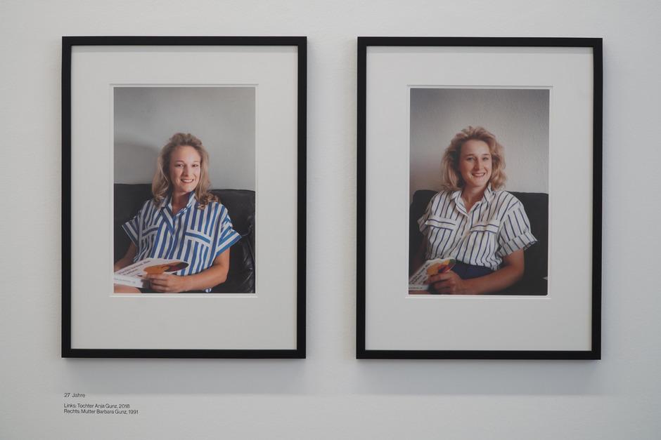 Die aktuelle Ausstellung ?Ahnen. Neue Porträts? zeigt Orly Zailers Serie von nachgestellten Fotos. Die Bilder regen Fragen zu Identität und Medium Fotografie an.