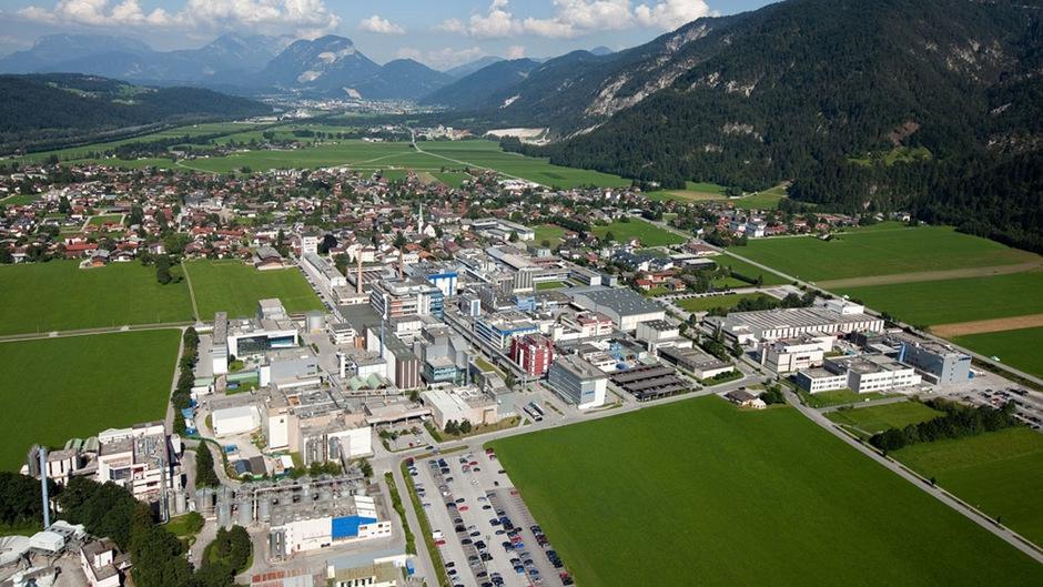 Kundl (Bild) und Schaftenau sind mit über 4000 Beschäftigten der größte Produktionsstandort des gesamten Novartis-Konzerns.