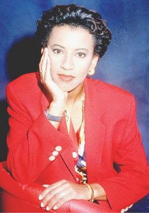 Arabella Kiesbauer 1994 - ein Jahr vor dem Briefbombenanschlag.