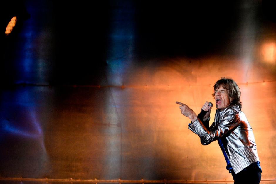 Mick Jagger muss eine Konzert-Pause einlegen.