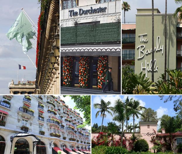 """Sultan Hassanal Bolkiah gehören verschiedene Luxushotels rund um die Welt, darunter das """"Beverly Hills"""" und das """"Bel Air"""" in Los Angeles."""
