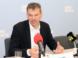 Innsbrucks Bürgermeister Georg Willi fordert für die Gemeinde Parteistellung bei der Grundsteuer.