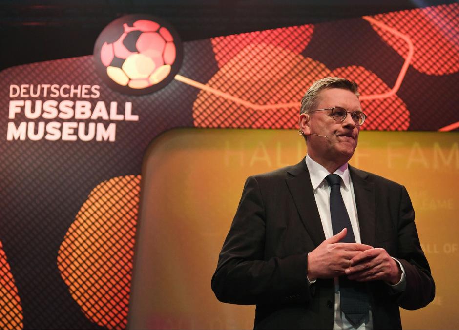 Reinhard Grindel trat von seinem Amt als DFB-Präsident zurück.