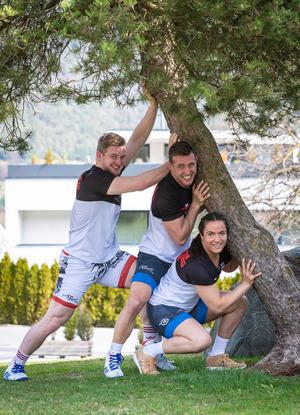 Eingeschworene Truppe: Bei der EM in Bukarest wollen die Ringer des RSC Inzing ihre Gegner auf die Matte legen.