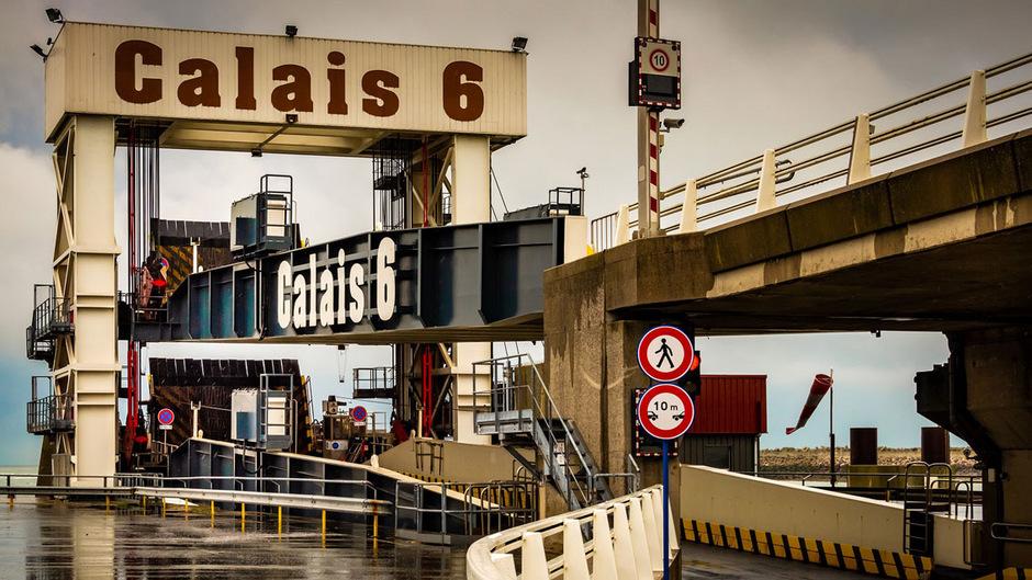 Im Falle eines Brexit ohne Abkommen läge die neue EU-Außengrenze auch im Hafen von Calais.