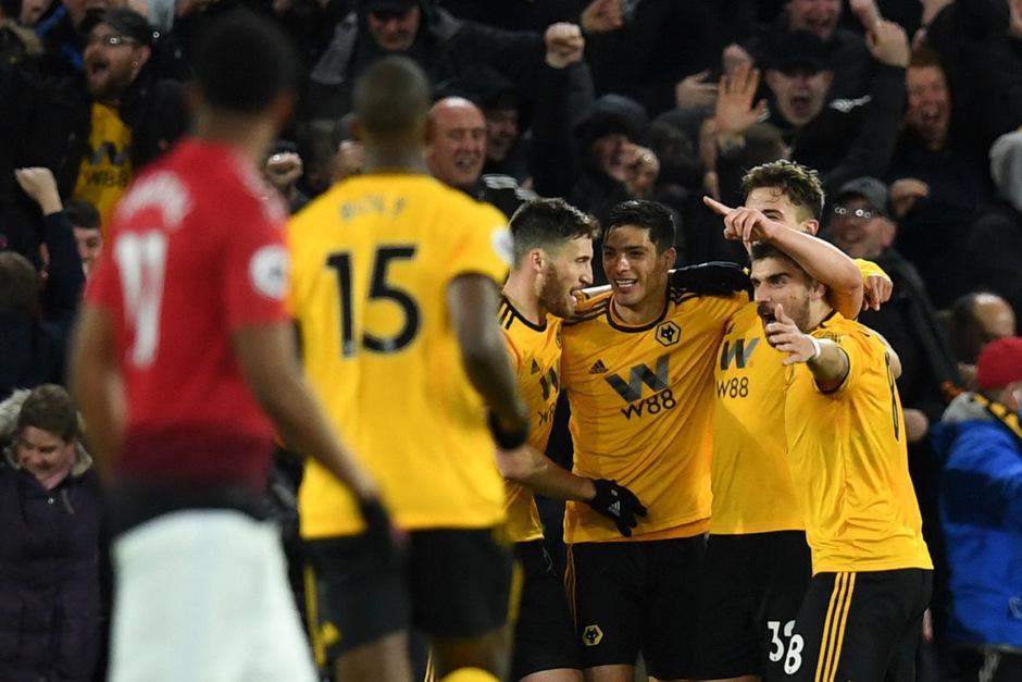 ManU hatte bei Wolverhampton das Nachsehen.