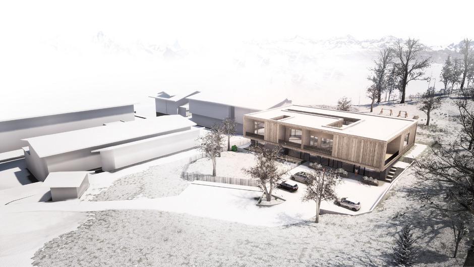 In den kommenden Jahren soll das neue Kindergarten- und Schulzentrum in Wildschönau entstehen.