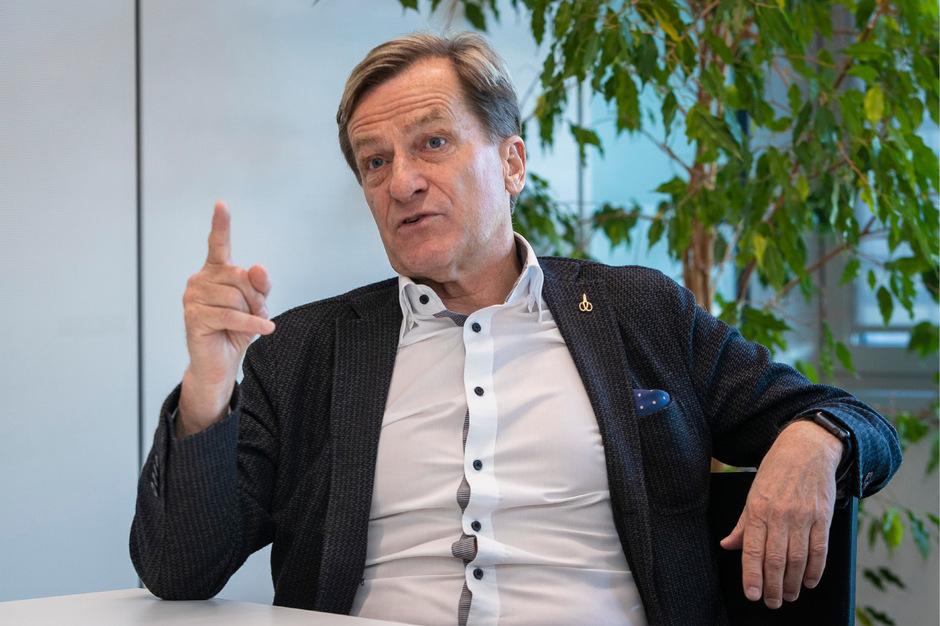 """""""Uns gehen für bestimmte Projekte wie das Nationalstadion die Argumente aus"""", meint Josef Geisler (über das ÖFB-Team)."""