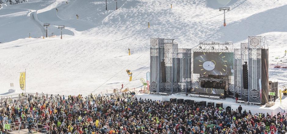 """Auch dieses Jahr werden wieder tausende Freunde elektronischer Musik das """"Electric Mountain Festivals"""" stürmen."""