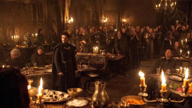 Das Ende naht für Robb Stark: Bei der Bluthochzeit werden er, seine Mutter und seine Braut niedergemetzelt.