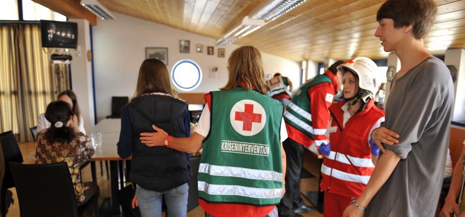 Die 220 Freiwilligen der Kriseninterventionsteams müssen eine intensive Ausbildung absolvieren, bevor sie zum Einsatz kommen.