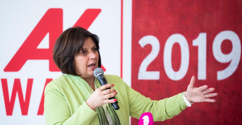 Arbeiterkammer-Präsidentin Renate Anderl (FSG) war über die Ergebnisse hocherfreut.