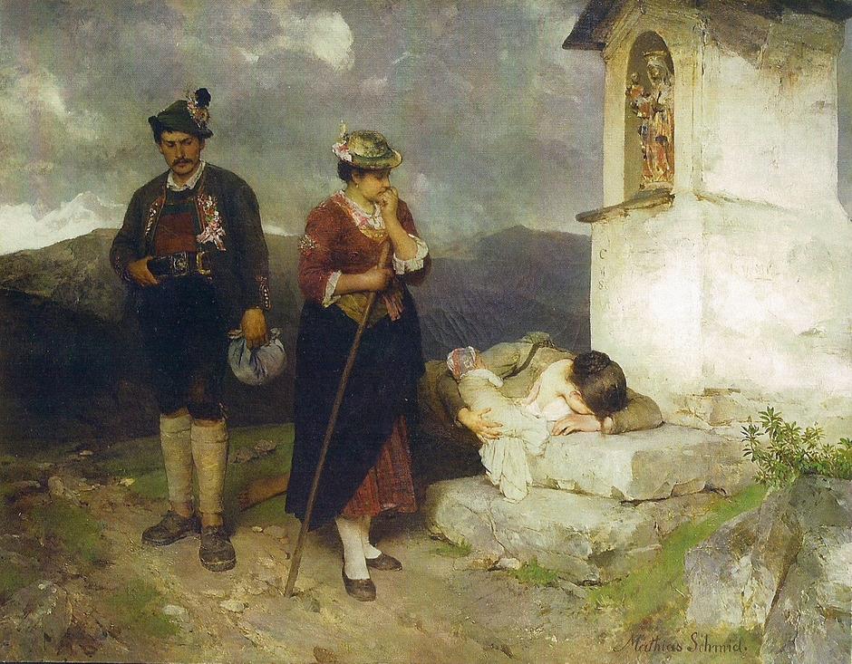 Experten befassen sich in Workshop mit dem Genremaler Mathias Schmid (1835–1923).