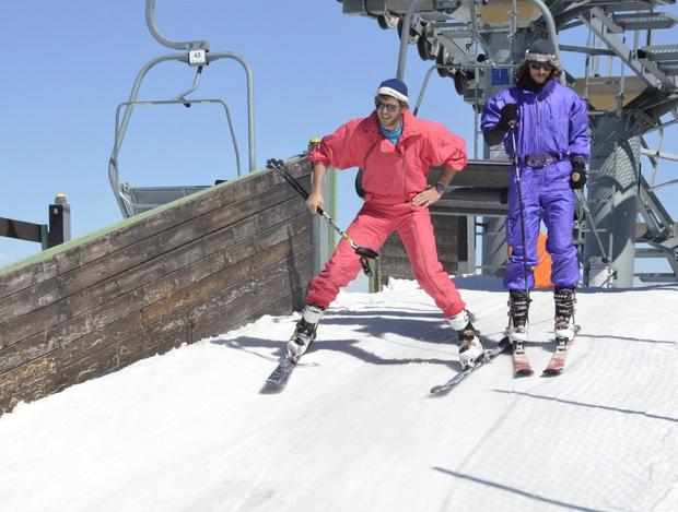 """Beim """"Ugly Skiing Day"""" im Axamer Lizum hat der gute Geschmack für einen Tag nichts zu melden."""