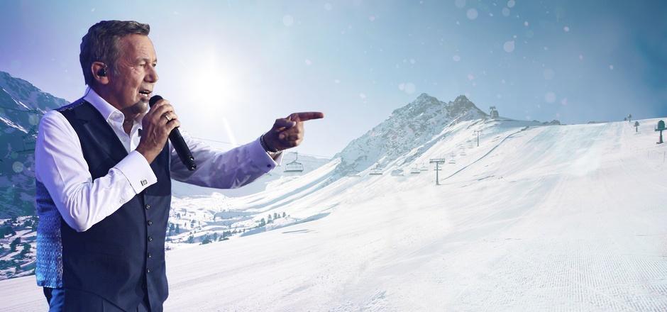 Am Bergkastel auf 2.200 Metern Seehöhe, im Skigebiet von Nauders wird Roland Kaiser am Samstag auftreten.