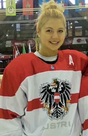Isabella Burghart darf auch WM-Luft schnuppern.